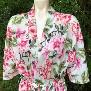 Women's one size Show Me Your Mumu Brie rose robe